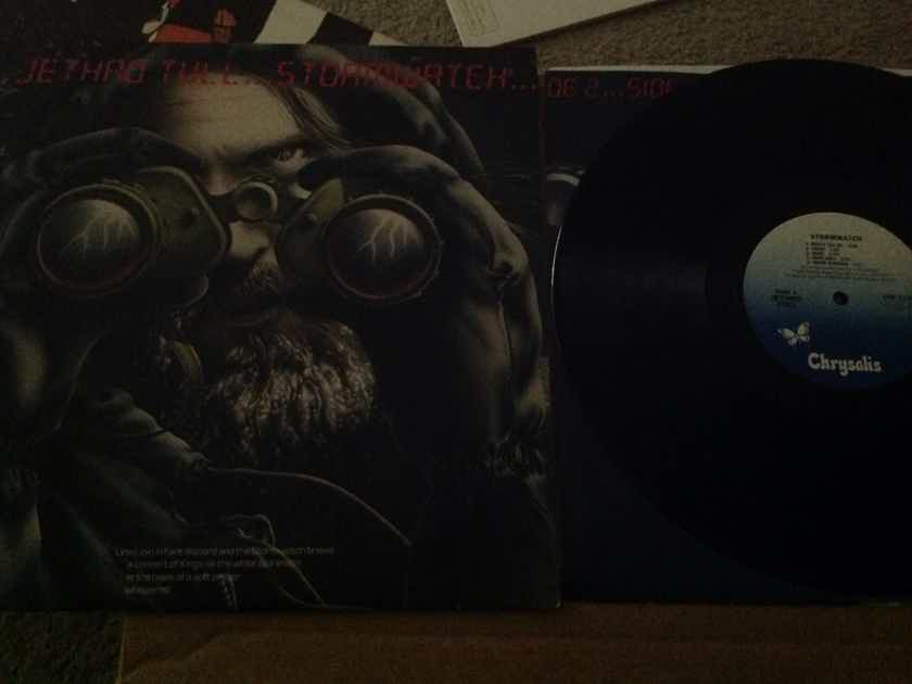 Jethro Tull - Stormwatch  Chrysalis Records Promo Stamp Back Cover Vinyl LP  NM