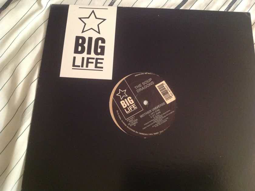 The Soup Dragons Mother Universe/Sweetmeat/Softly(Live) Big Life Records 12 Inch