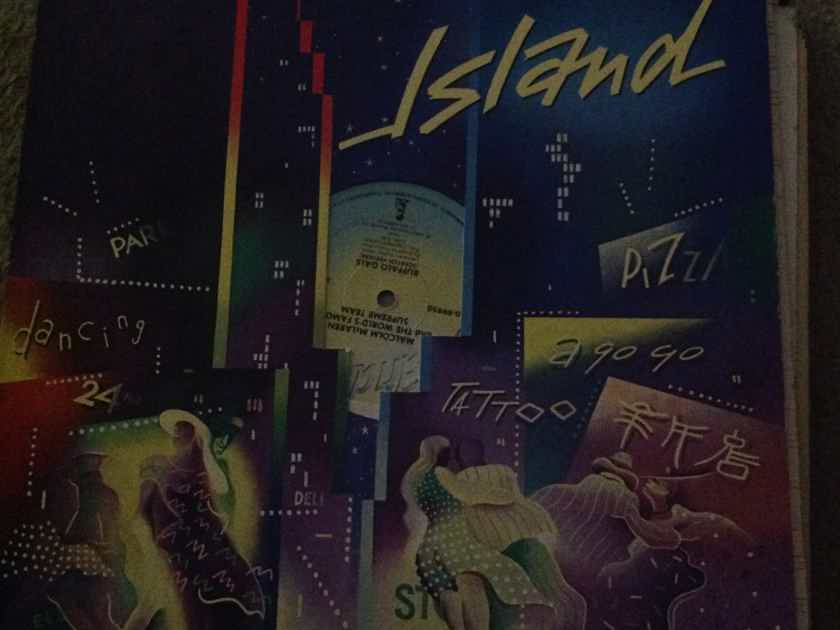 Malcolm McLaren  - Buffalo Gals 12 Inch EP Island Records Vinyl NM