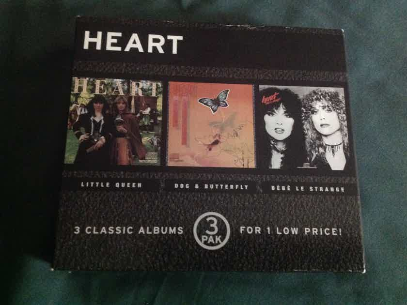 Heart - Little Queen Dog & Butterly Be Be Le Strange 3 Compact Disc Box Set