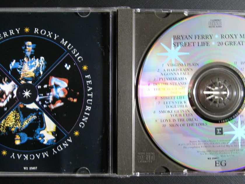 Bryan Ferry / Roxy Music - Street Life: 20 Great Hits -  1989  Reprise Records W2 25857