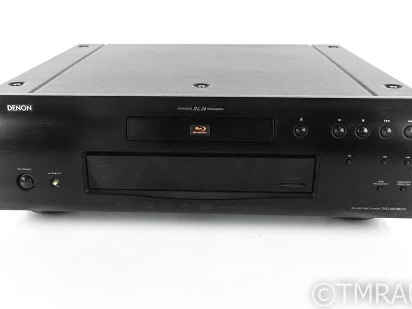 Denon DVD-3800BDCI Blu-Ray / DVD Player; DVD3800BDCI, Remote (21238)