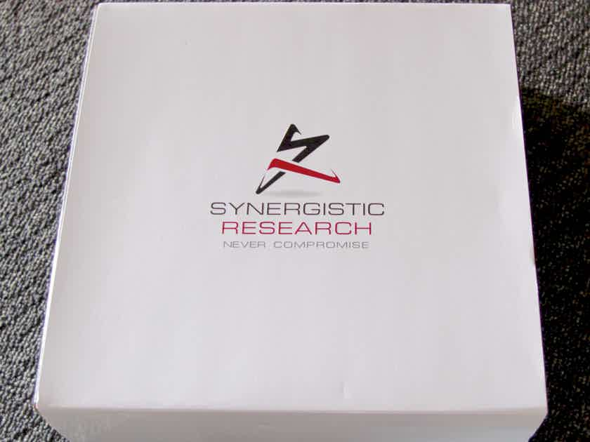 Synergistic Research Atmosphere Level 4 12' New IFT Spk Cables !