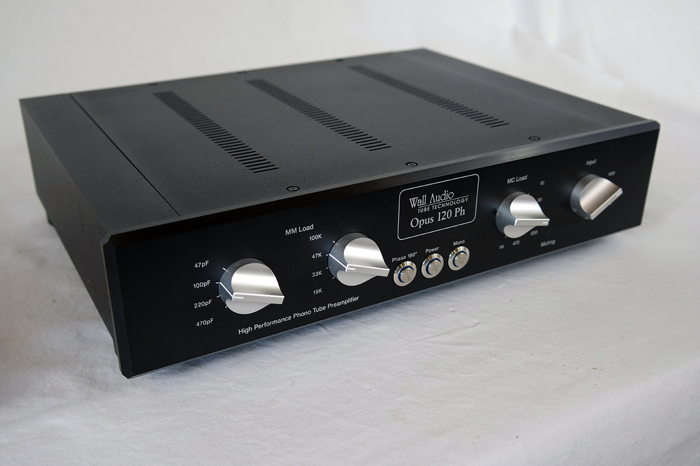 Wall Audio OPUS 120 PH MM/MC tube phono stage