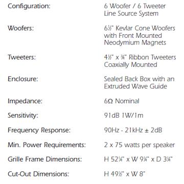 Speakercraft Starlet 6