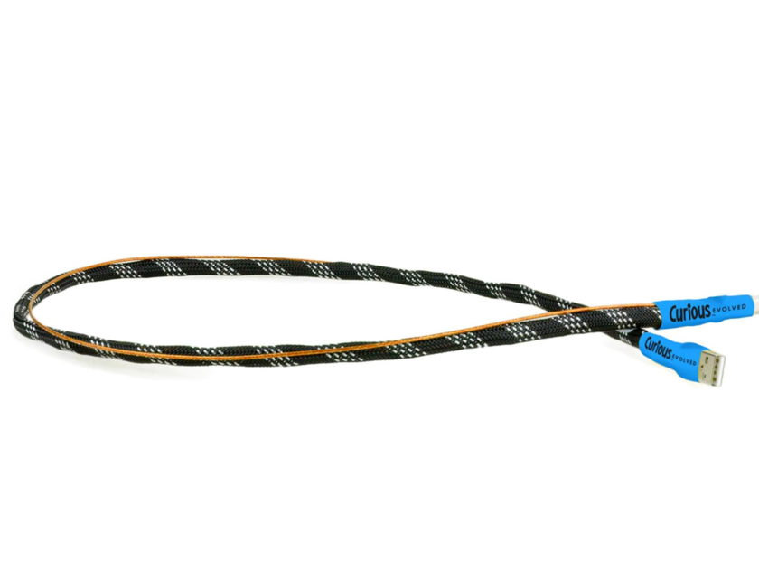 Curious Cables -- Evolved USB Cable | Award-Winning Cables and a Tremendous Value | (45-day Audition and Free Shipping)