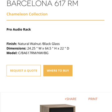 Salamander Designs Barcelona 617 RM