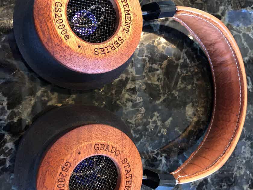 Grado GS2000e w/ 10' Silver Dragon Cable
