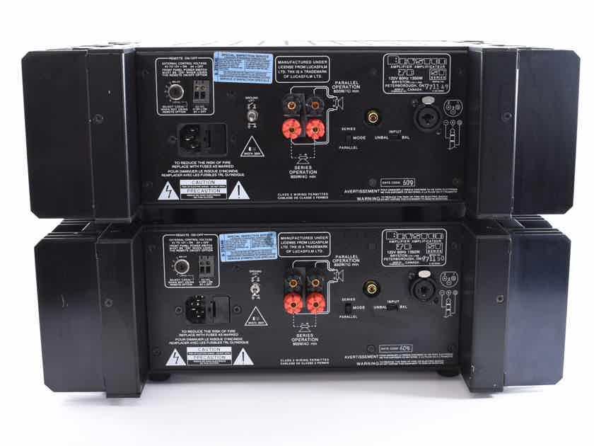 Bryston 7B ST THX Power Amplifiers Pair Monoblock - #771149 & #771150