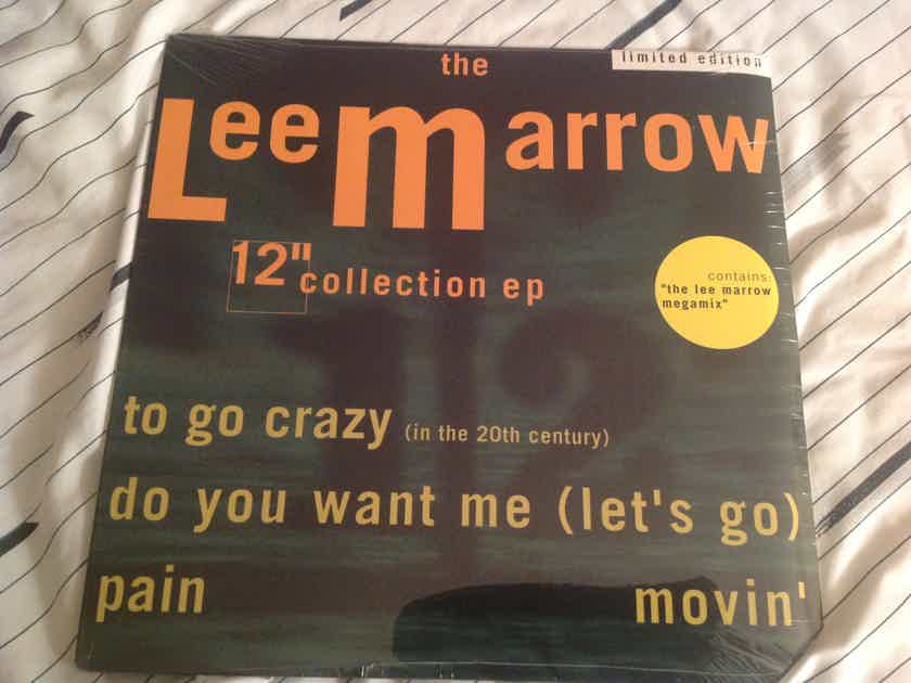 Lee Marrow The Lee Marrow 12 Inch Collection Limited Edition Sealed