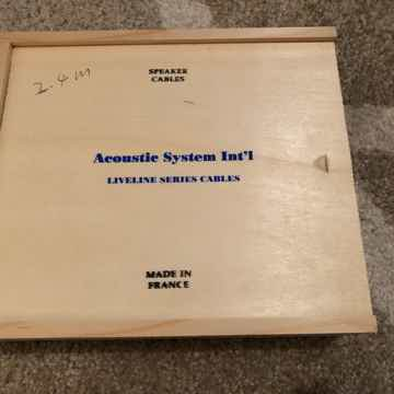 Acoustic System Intl. Liveline