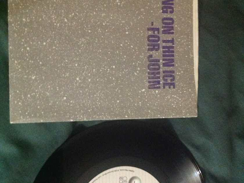 Yoko Ono - Walking On Thin Ice/It Happened Geffen Records 45 Single With Picture Sleeve Vinyl NM