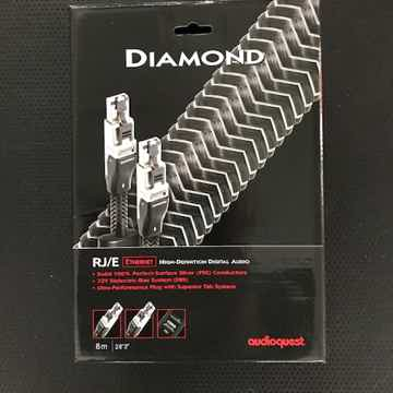 AudioQuest Diamond RJ/E Ethernet Cable  8 Meter