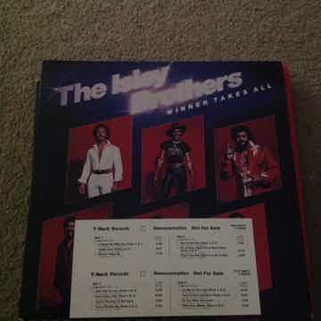 The Isley Brothers - Winner Takes All 2LP White Label P...