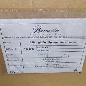 Burmester B10