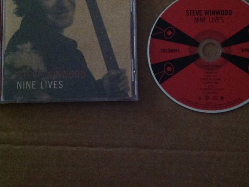 Steve Winwood - Nine Lives Columbia Records Compact Disc