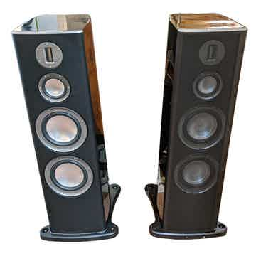Monitor Audio Platinum PL300 Tower Spkrs (Blk Gloss): E...