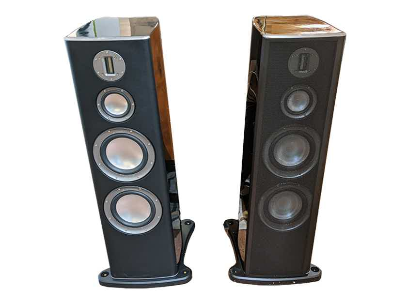 Monitor Audio Platinum PL300 Tower Spkrs (Blk Gloss): EXCELLENT Trade-In; 1 Year Wrnty; 60% Off