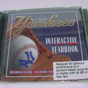 Interactive Yearbook multimedia CD ROM