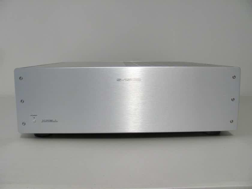 Krell S-1500 3 Channel Amplifier, Silver, 175W / 8Ohms and 350W /4Ohms