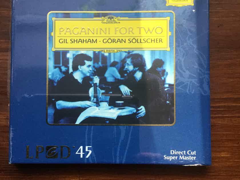 GIL SHAHAM/GORAN SOLLSCHER   - Paganini for Two XRCD/ LPCD