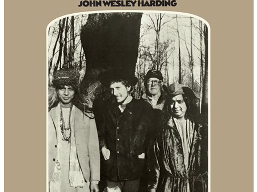 Bob Dylan - John Wesley Harding - MFSL 2LPs 45rpm Pressing Ltd to 3,000 Numbered - 180g Mono 45rpm 2LPs - New/Sealed