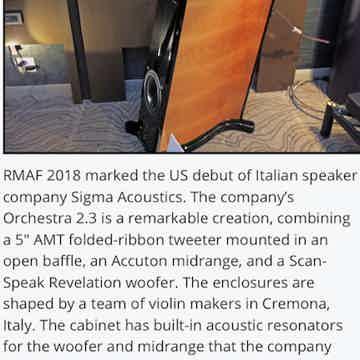 Sigma Acoustics Orchestra 2.3