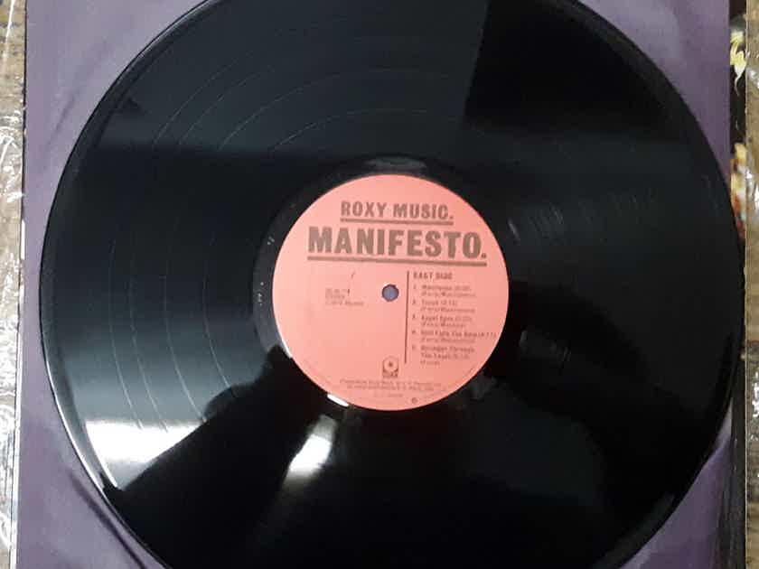 Roxy Music - Manifesto 1979 NM- Vinyl LP ATCO Records SD 38-114