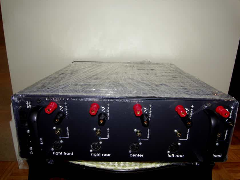 Proceed Amp 5 MARK LEVINSON 5 CHANNEL AMP 250w X 5 INTO 4