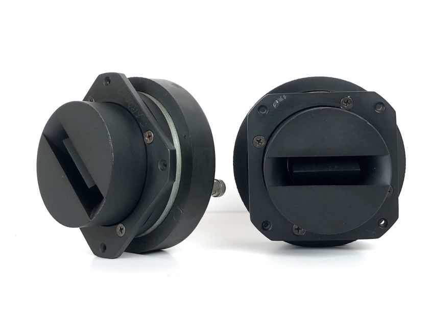 (2) JBL 2405H 8-Ohms Ultra-High Frequency Transducer Slot Tweeters Speaker Drives 2405 H