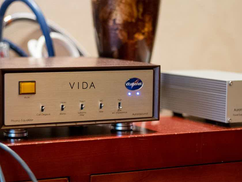 Aurorasound VIDA - LCR type phono stage - BRAND NEW REVIEW ONLINE - check it out