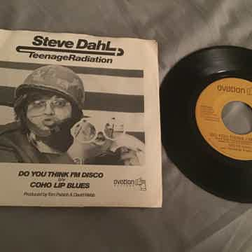 Steve Dahl Do You Think I'm Disco 45 With Picture Sleev...