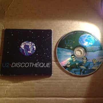U2 - Discotheque/Holy Joe Island Records 2 Track Compac...