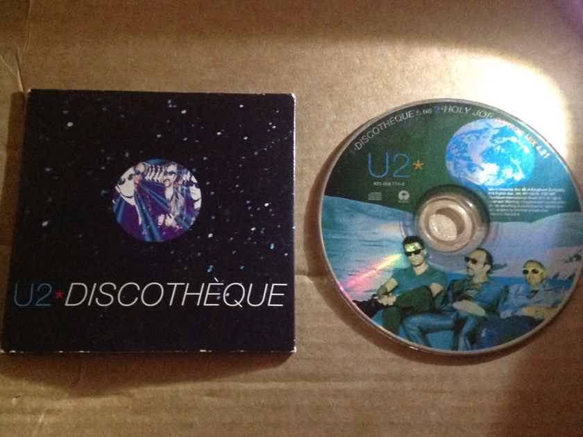 U2 - Discotheque/Holy Joe Island Records 2 Track Compact Disc