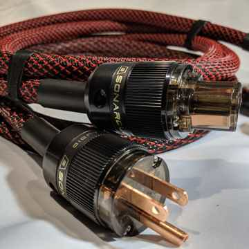 10 AWG All-Copper Power Cable *No brass or alloys*  St...