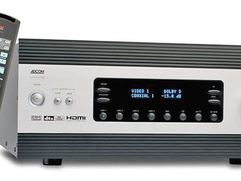 NEW! ADCOM GTP-870 HD A/V Balanced Processor deal $1200 OFF + FREE Delivery!