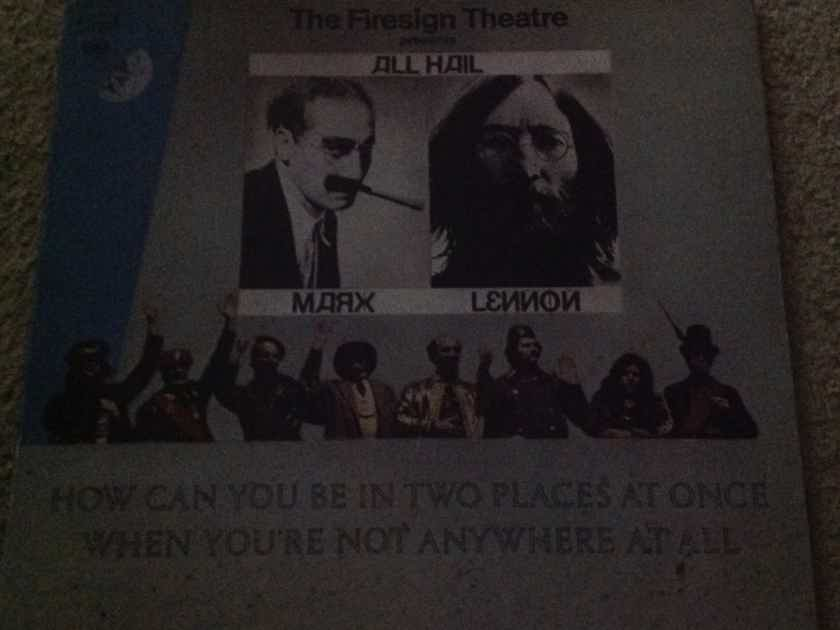 Firesign Theatre - How Can You Be In Two Places At Once When Your Not Anywhere At All Columbia Records Gatefold Cover Vinyl  LP NM