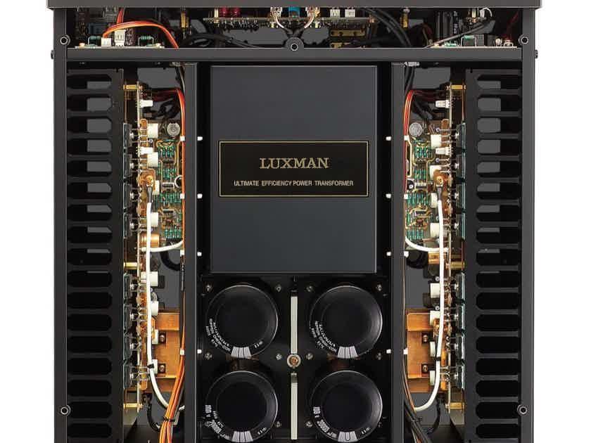 Luxman M-800a Pure Class A Stereo Amp (115v U.S import)