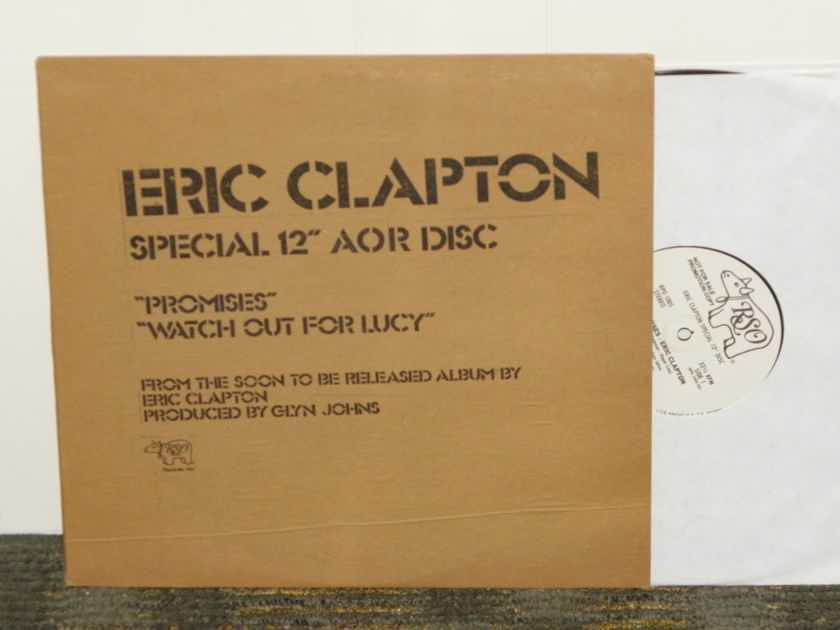 "Eric Clapton - SPECIAL 12"" AOR DISC ""Promises"" RSO WL promo RPO 1005 Super Sound"