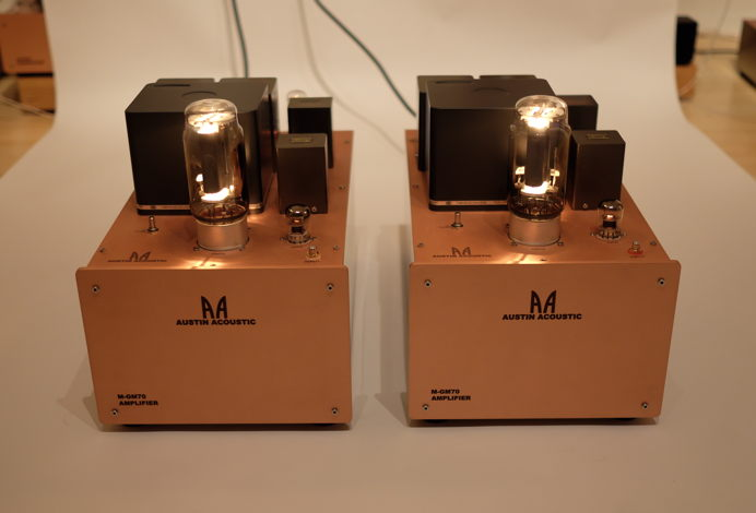 M-GM70 SET Monoblock Amps
