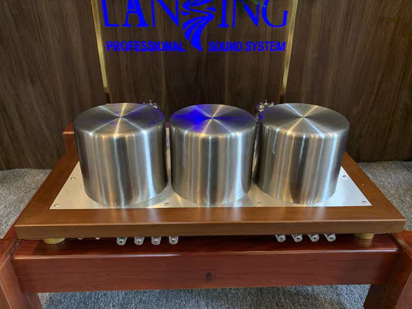 Stereo One Tube Amplifier 6C33C High End SE Triode Class A, EL34, 12AT7