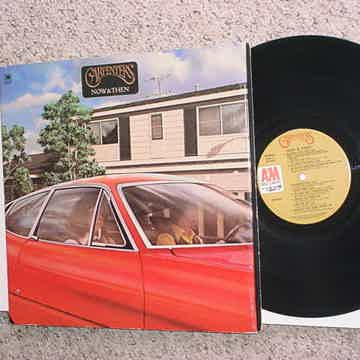 now & then lp record