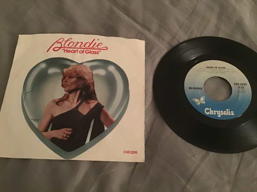 Blondie Heart Of Glass 45 With Picture Sleeve Vinyl NM