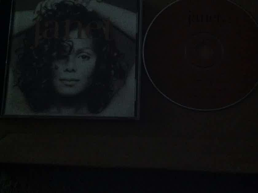 Janet Jackson - Janet. Virgin Records Compact Disc