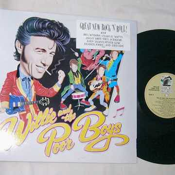 WILLIE & THE POOR BOYS - SELF TITLED - RARE ORIG 1985 BLUES LP -