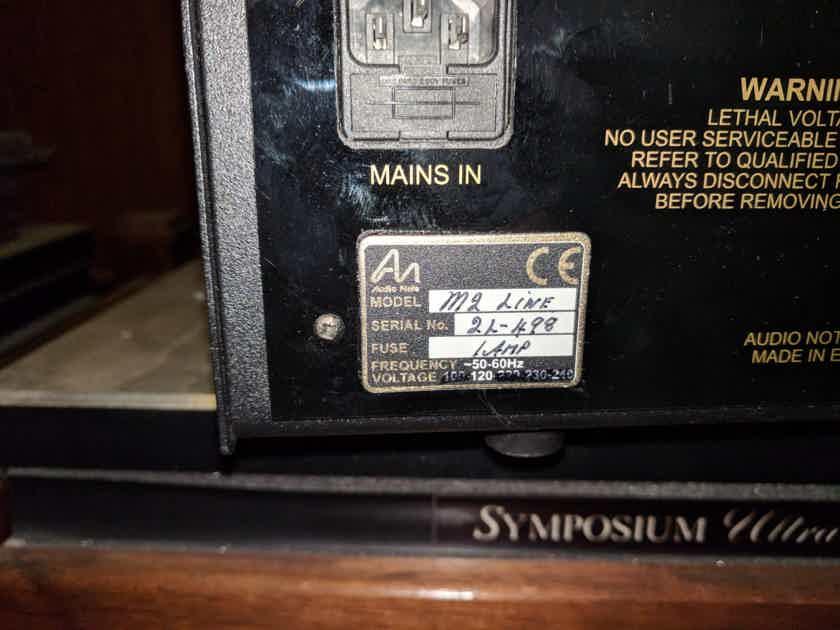 Audio Note M-2 line