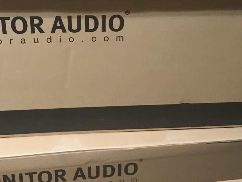 Monitor Audio  Silver 6 Floor-Standing Speakers (ROSENUT PAIR) New, Sealed in Box w/ Free Shipping