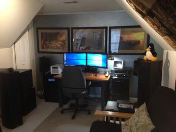 B&W Media Room
