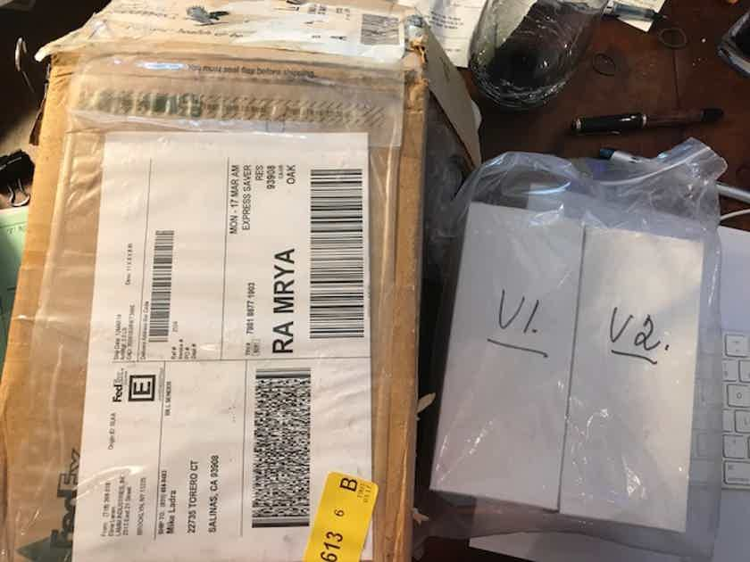Lamm Industries ML 2.2 NOS tubes for it