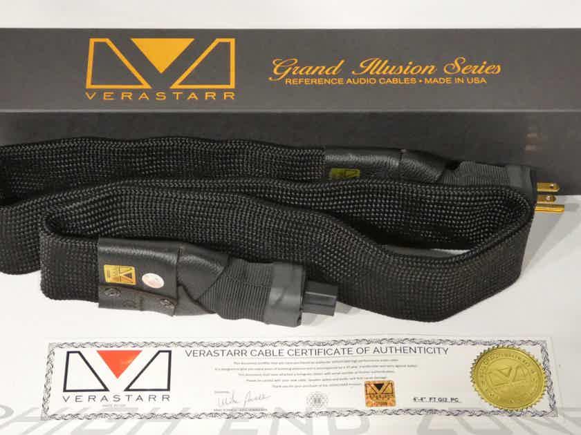 """Verastarr Grand Illusion Series 2 Power Cord 4' 4"""" Copper Foils"""